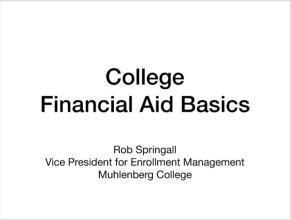 Rob Springall--FA Presentation