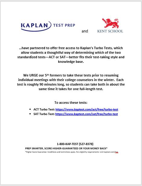 Kaplan Turbo Test Flyer